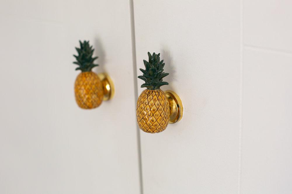 Pineapple door handles