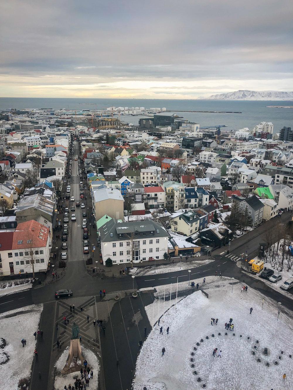 Hallgrímskirkja church Reykjavik guide