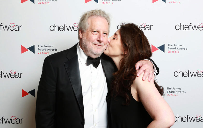 Chef   Jonathan Waxman   and Rochelle.