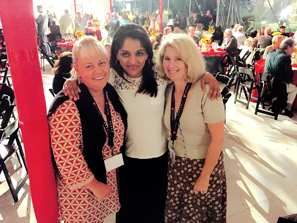 Sherry Yard     @SherryYard  , Malika at Five Star preevent dinner hosted by Tom Zenty, CEO, University Hospitals.