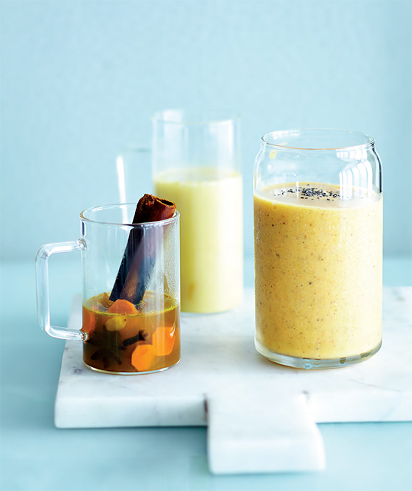 Tropical Turmeric Smoothie Spiced Turmeric Tisane