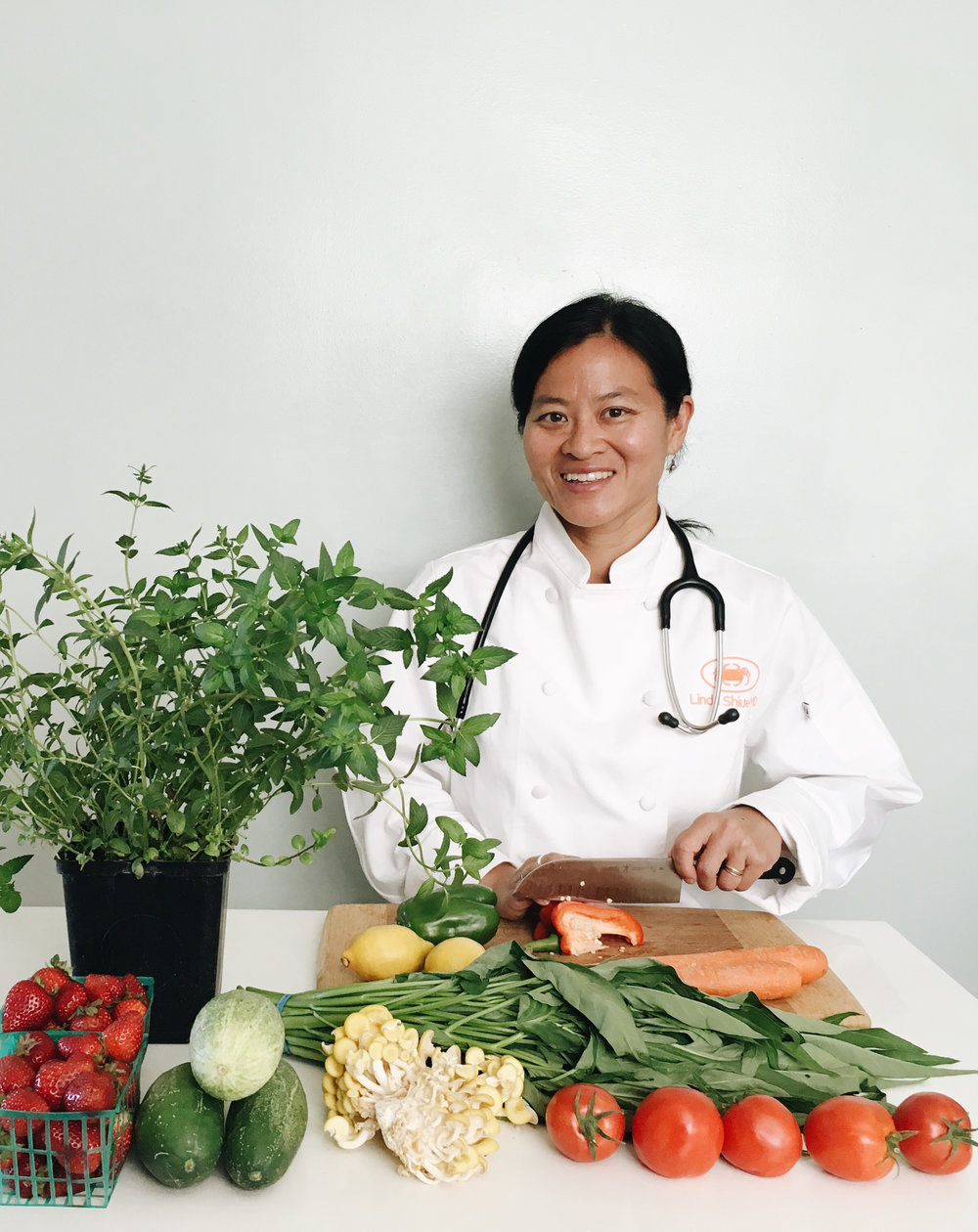 Chef Linda Shiue, MD; Photo by Emma Chin-Hong
