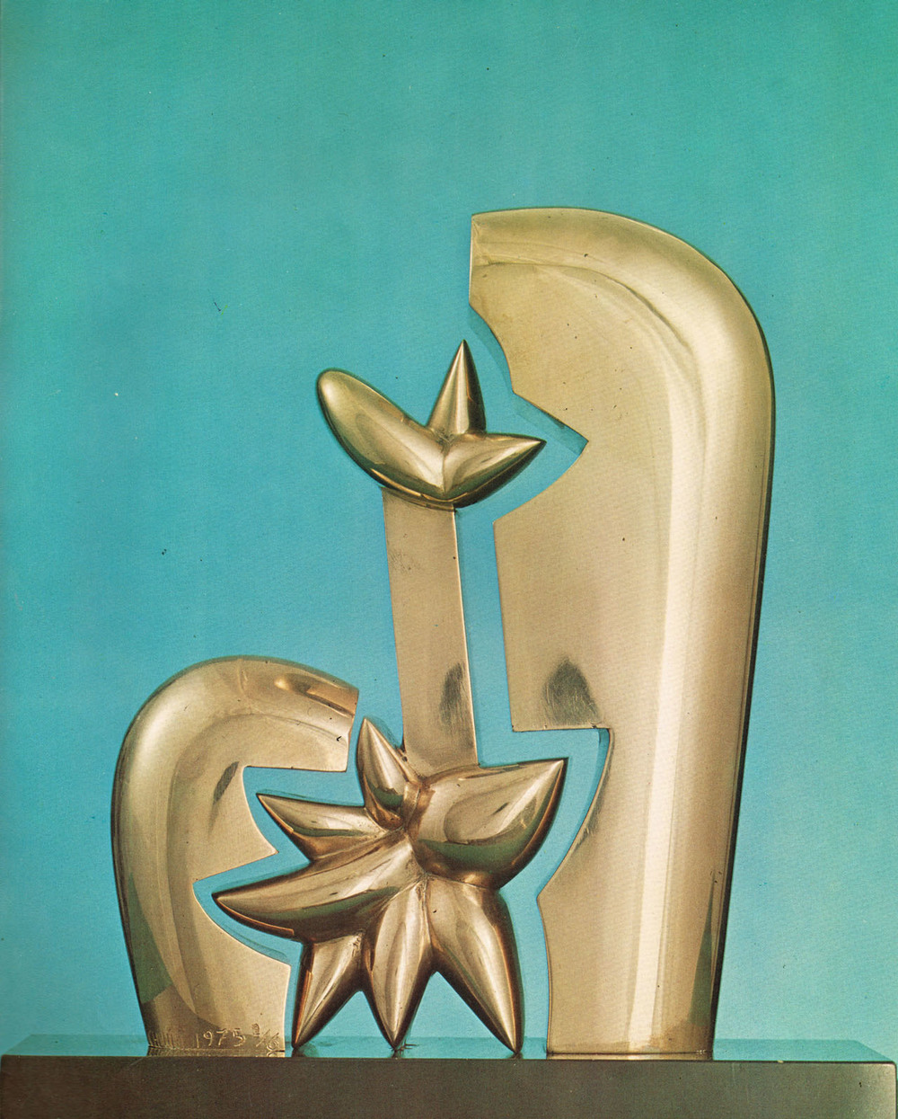 1976 Exhibition %22Nascita%22 - polished bronze - 1975.jpg