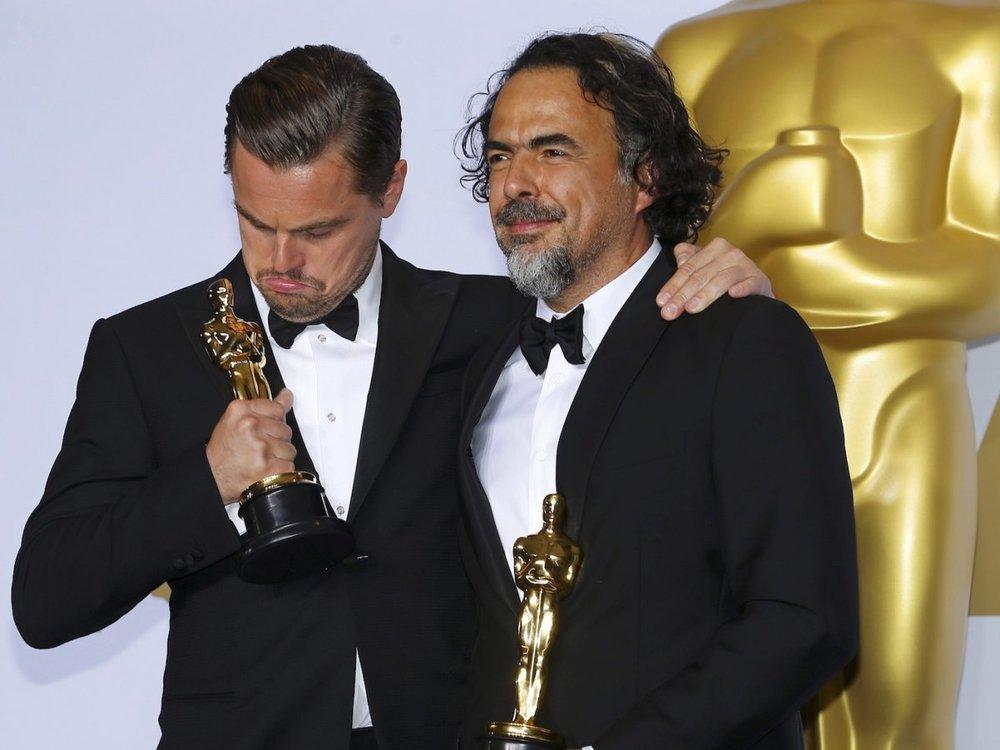 Leo wins his 1st Oscar