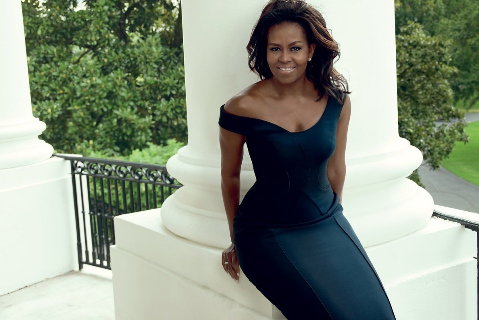 Michelle Obama stuns on Vogue cover
