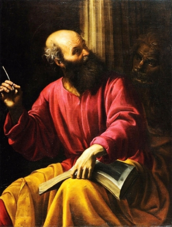 Giuseppe Vermiglio, Saint Mark the Evangelist, c. 1630
