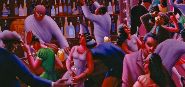 Archibald John Motley, Jr.  Nightlife , 1943.