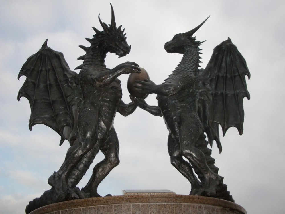 """Dragon Family,"" Varna, Bulgaria"
