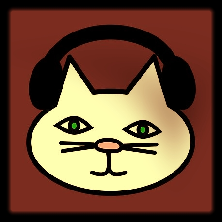 Tune In - Click the cat to open in mobile app or browser