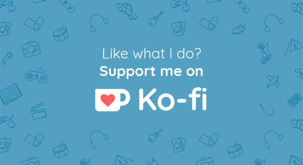 Buy us a cup of Ko-Fi!