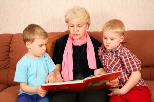 bigstockphoto_The_Grandmother_And_Grandsons__1775917-300x200