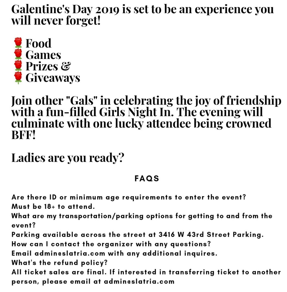 galentine's description
