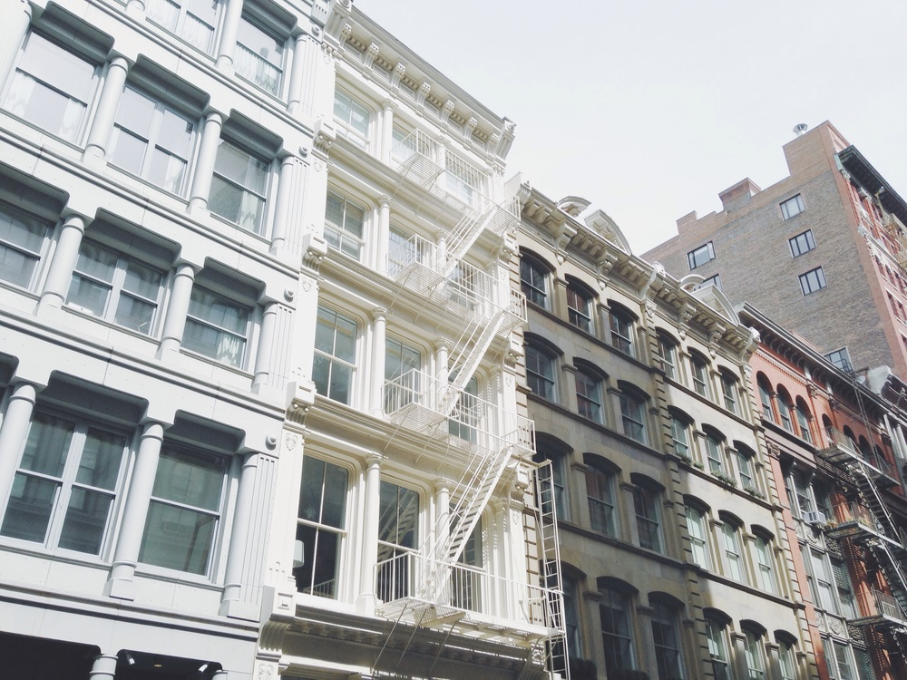 SoHo's buildings - a sight I will never ever get sick of..