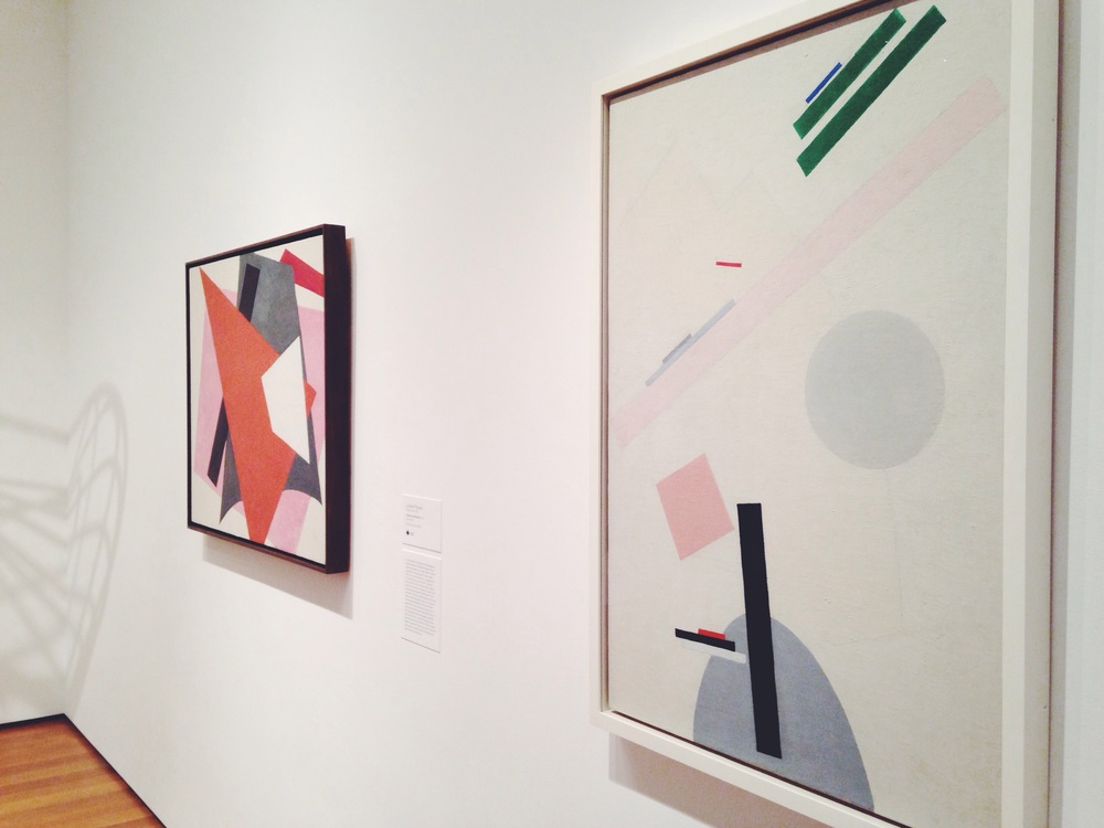 A visit to the MoMA and fell in love with Malevich all over again.