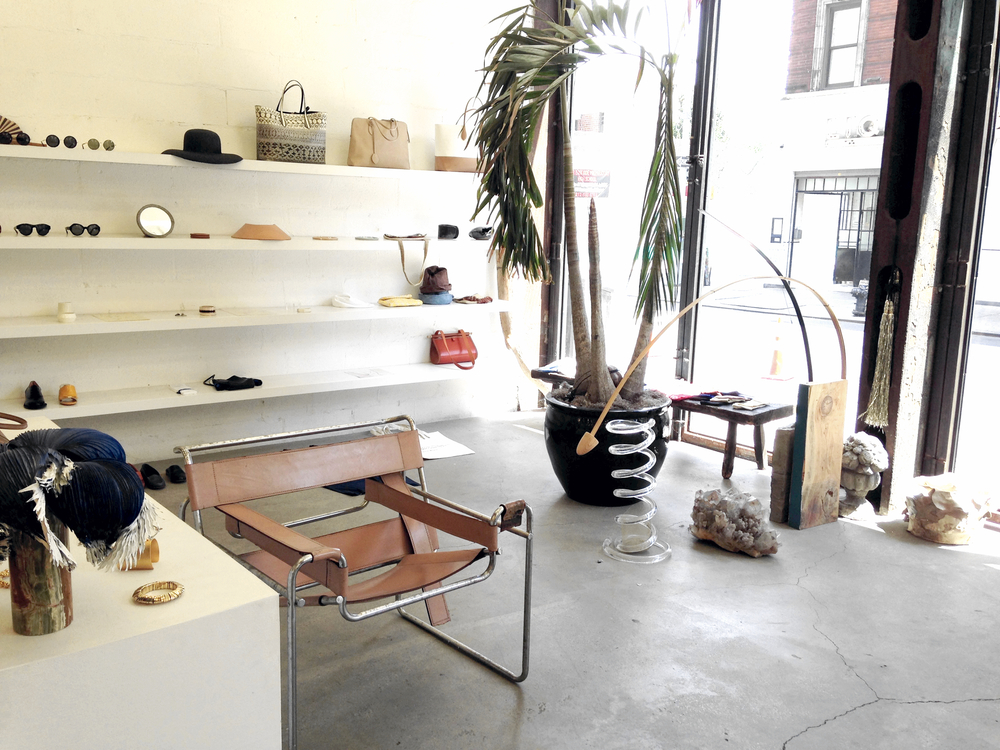 Maryam Nassir Zadeh's flawlessly curated boutique. Love SO much.