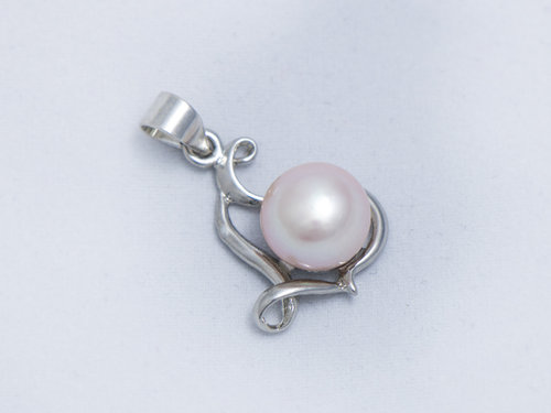 Perfectly pearl denise pink pearl pendant denise pink pearl pendant aloadofball Image collections