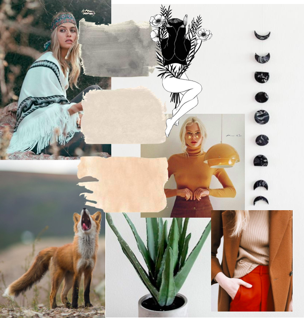 Free People Moodboard