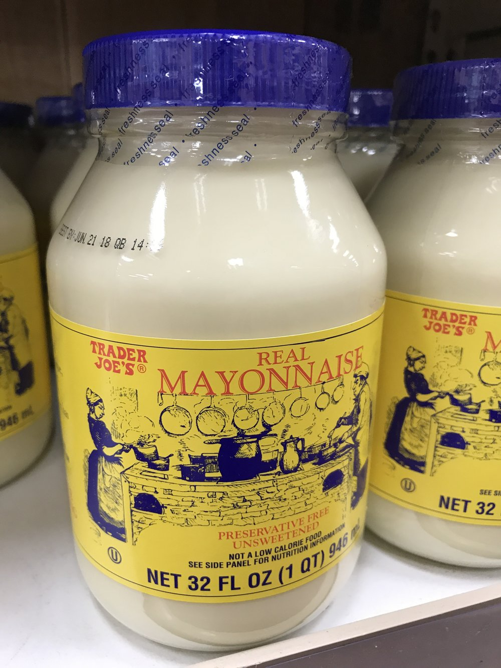 This Trader Joe's Mayonnaise is soy-free and easy to find!