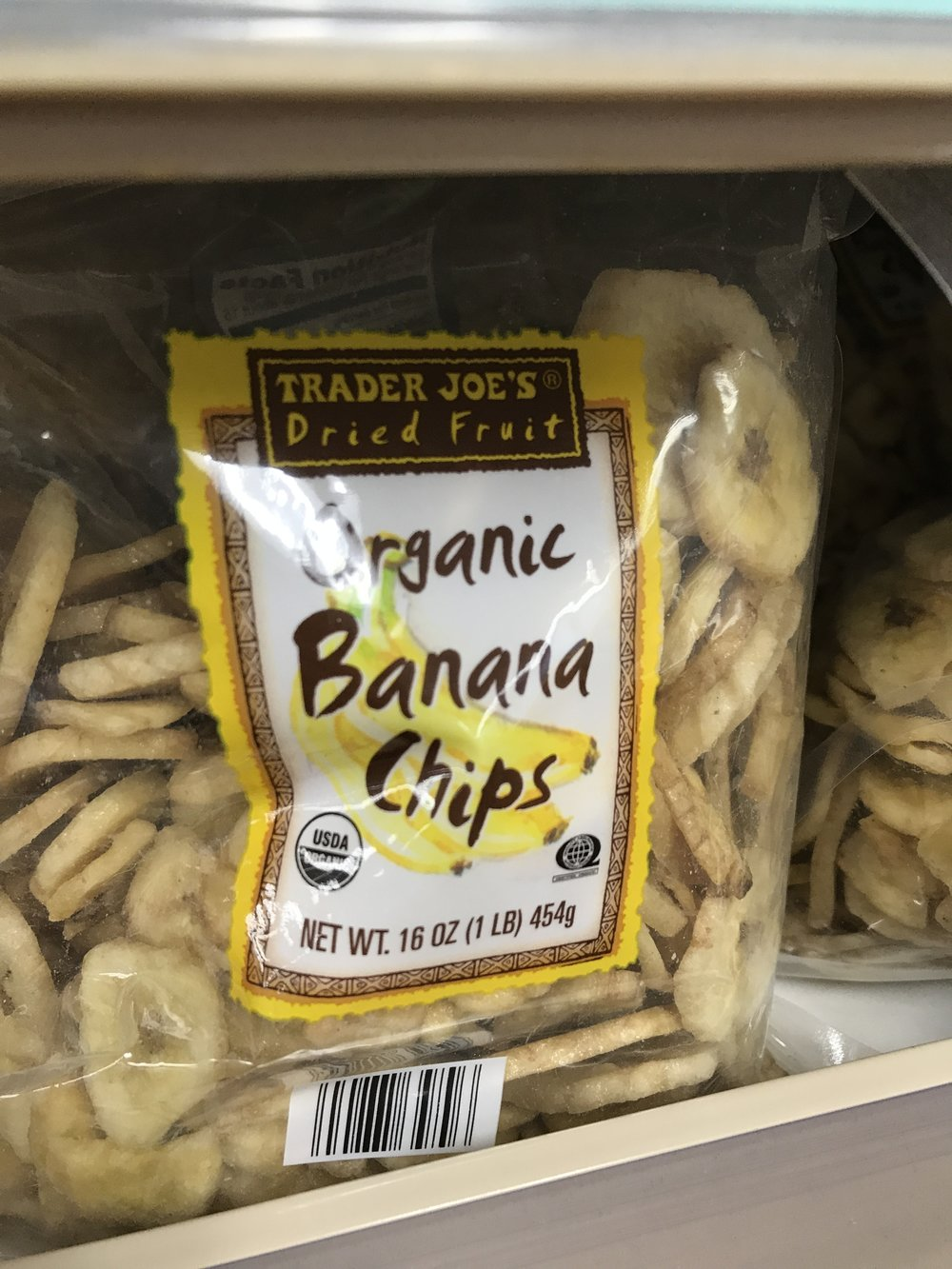 We love Trader Joe's dried fruit and nuts as soy-free snacks.