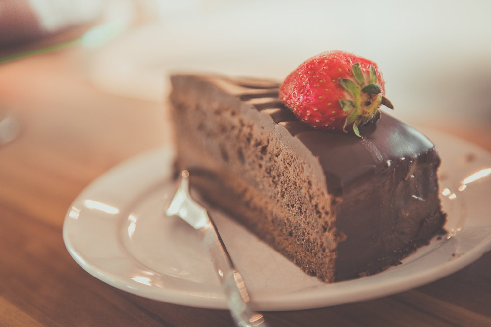 Soy-free chocolate cake is always a huge hit - image via pexels