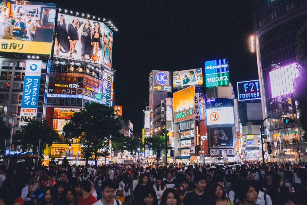 Even through the chaos of Tokyo we found plenty of soy-free food - IMAGE VIA PEXELS