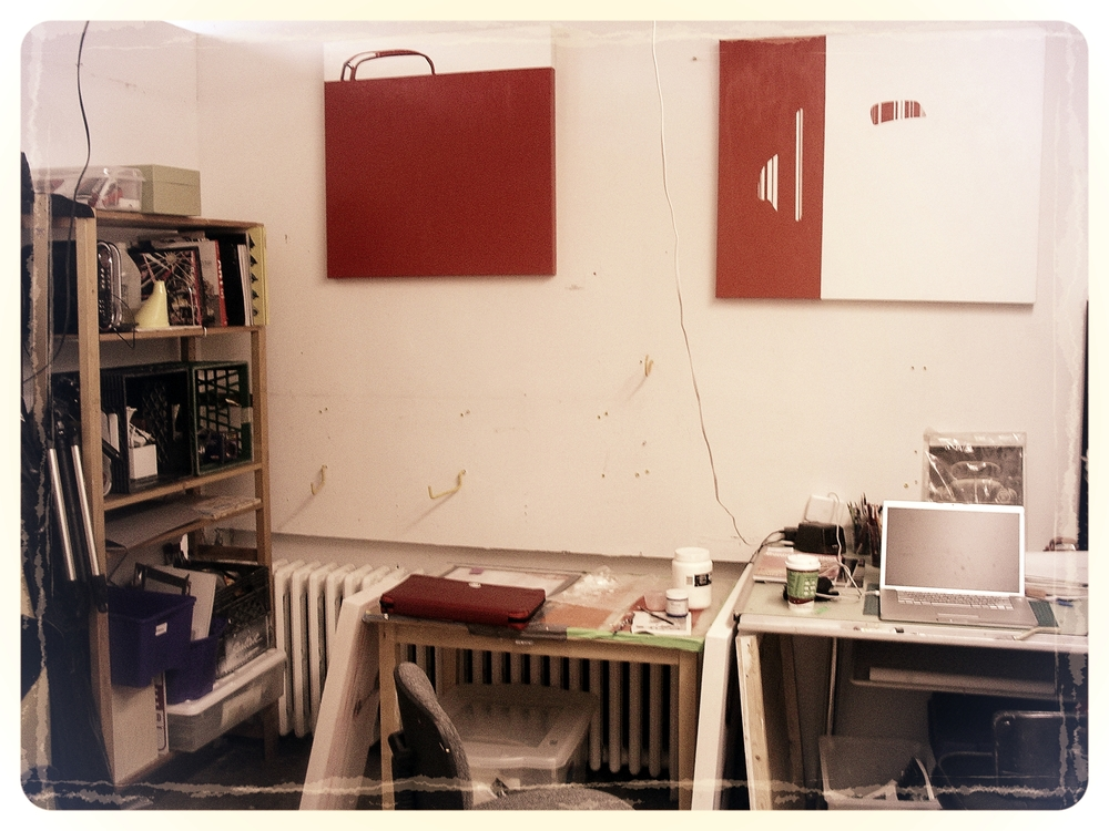Nurit's Studio at AWOL, 2007