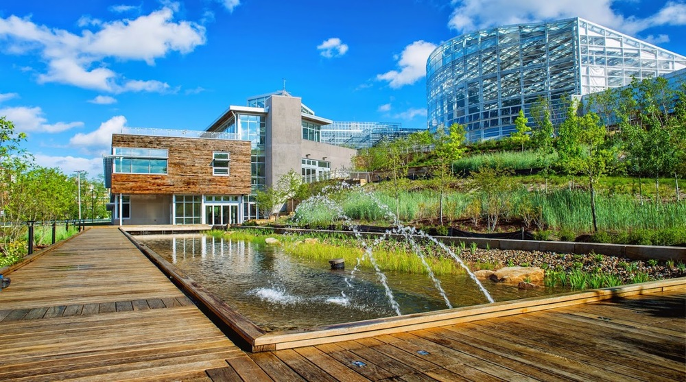 GCAC funding helped support the building of Phipps new green building (Photo credit: Phipps Conservatory)
