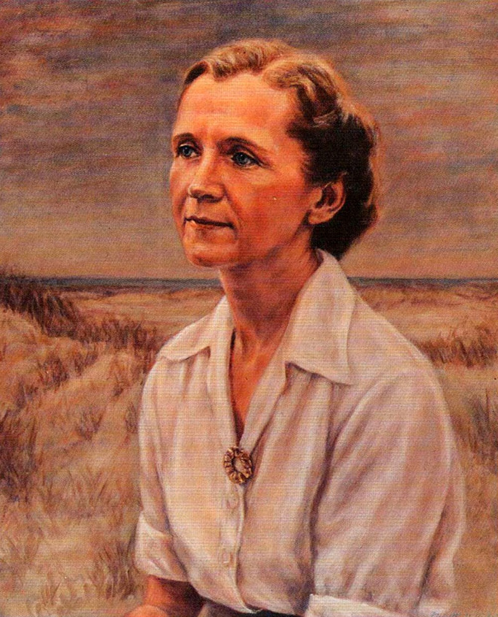 Rachel Carson, conservationist and  Silent Spring  author   Photo credit: Chatham University Archives, Pittsburgh, Pa