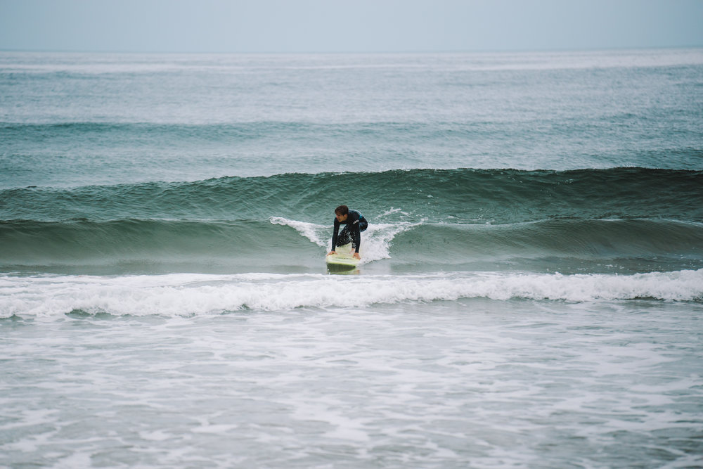 surf lessons paid off