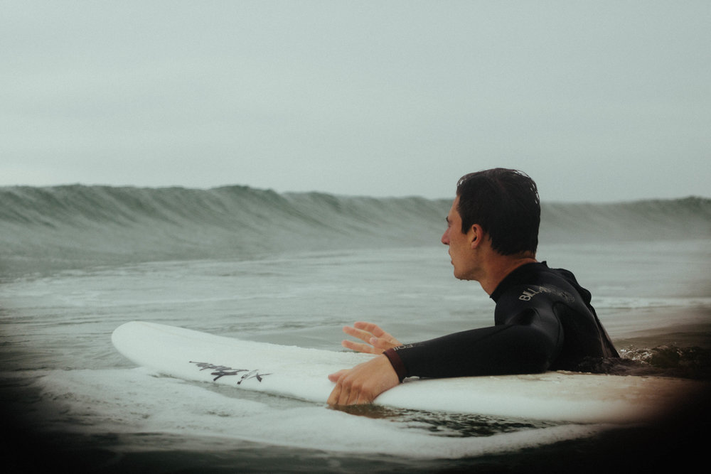 """Andrew: """"I'm supposed to surf that?"""""""
