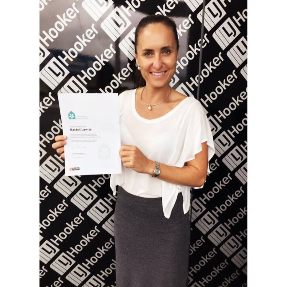 Rachel Lawrie - Liveability Award photo