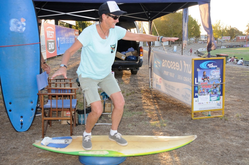 Cheryl Buck from Surf Culture Australia brought the surf to Prospect