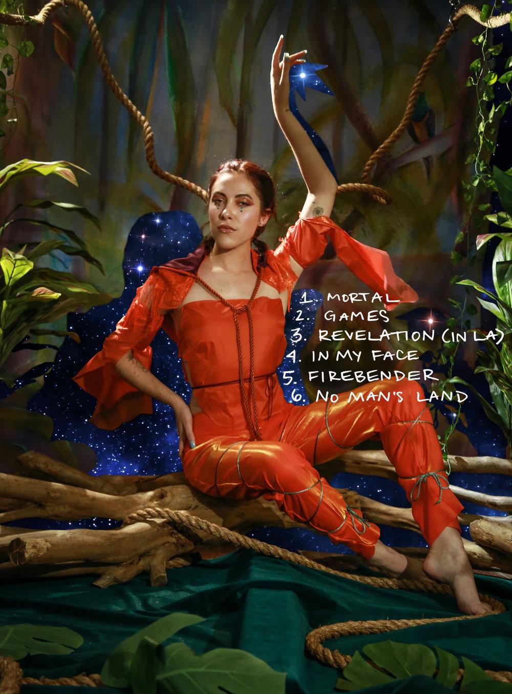Vivian Firebender EP Tracklist