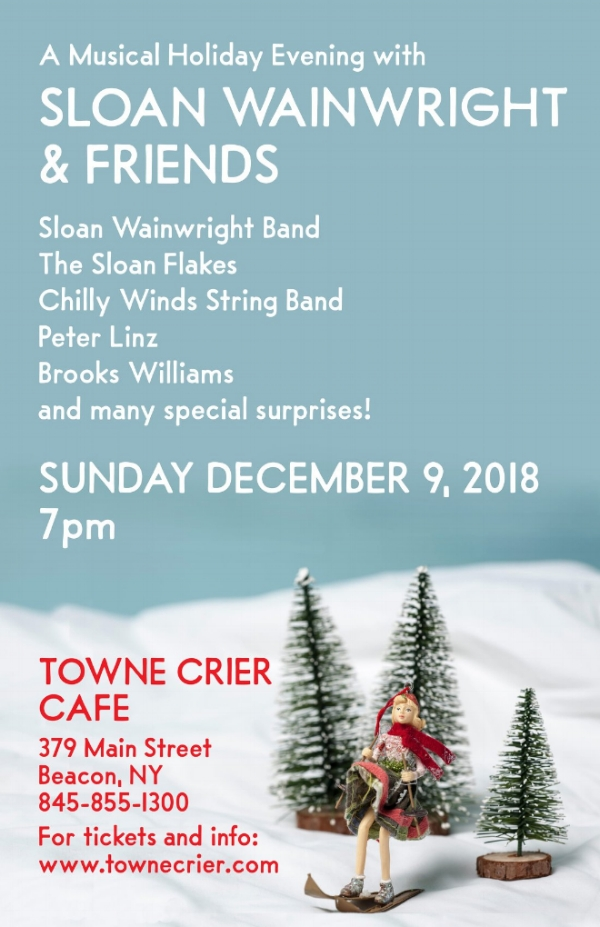 It's the 19th Annual Sloan Wainwright Holiday Whiz-Bang Shin-Dig, folks!It's the 19th Annual Sloan Wainwright Holiday Whiz-Bang Shin-Dig, folks!