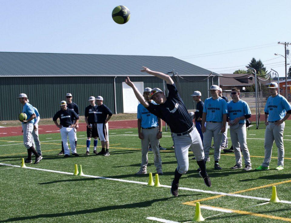 Medicine Ball Throw Baseball Athletic Rating