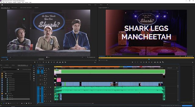 #TimelineTuesday 🎥✂️ This one was a lot of fun to both shoot and edit. @sharklegs_the_band new video is 🔥!⠀ •⠀ #luts #colorgrading #colorcorrection #filmeditor #postproduction #editing #coloring #filmluts #adobepremiere #filmmaking #videoproduction #directorofphotography #filmmaking #filmmaker #videomaker #videomaking #behindthescenes #bts #filmmakersworld #filmcommunity #filmproduction #filmmakinglife