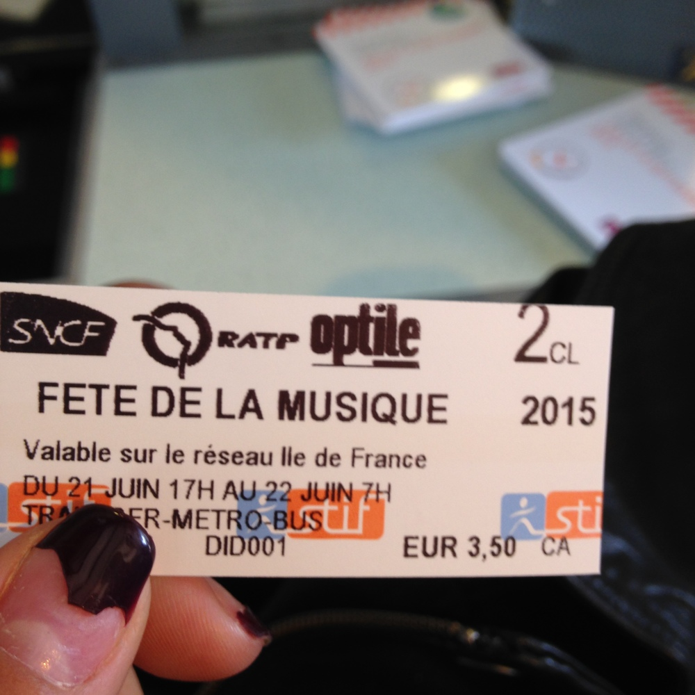 Special metro tickets for the Solstice