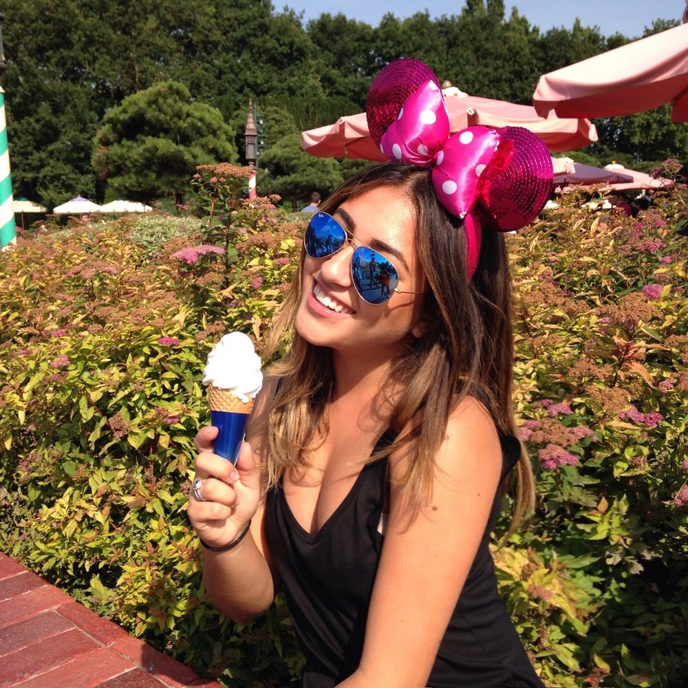 Tiniest amusement park ice cream, ever