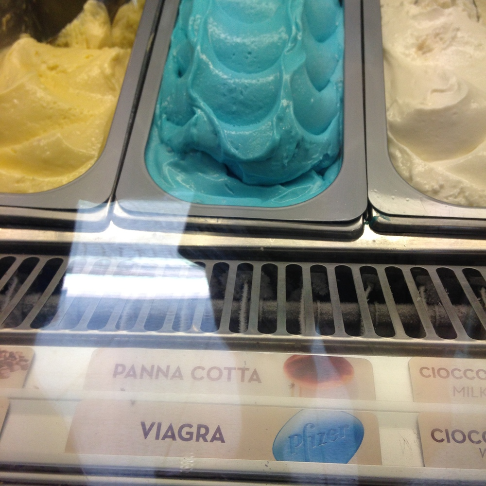 Interesting gelato flavors