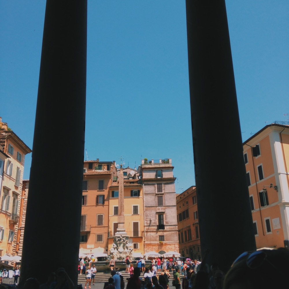 Views from the Pantheon
