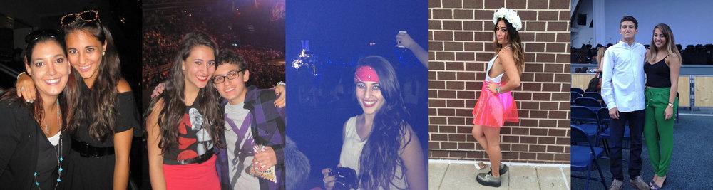 Monster Ball 2010, Monster Ball 2011, Jingle Ball LA 2011, Artrave 2014, Cheek to Cheek Tour 2015