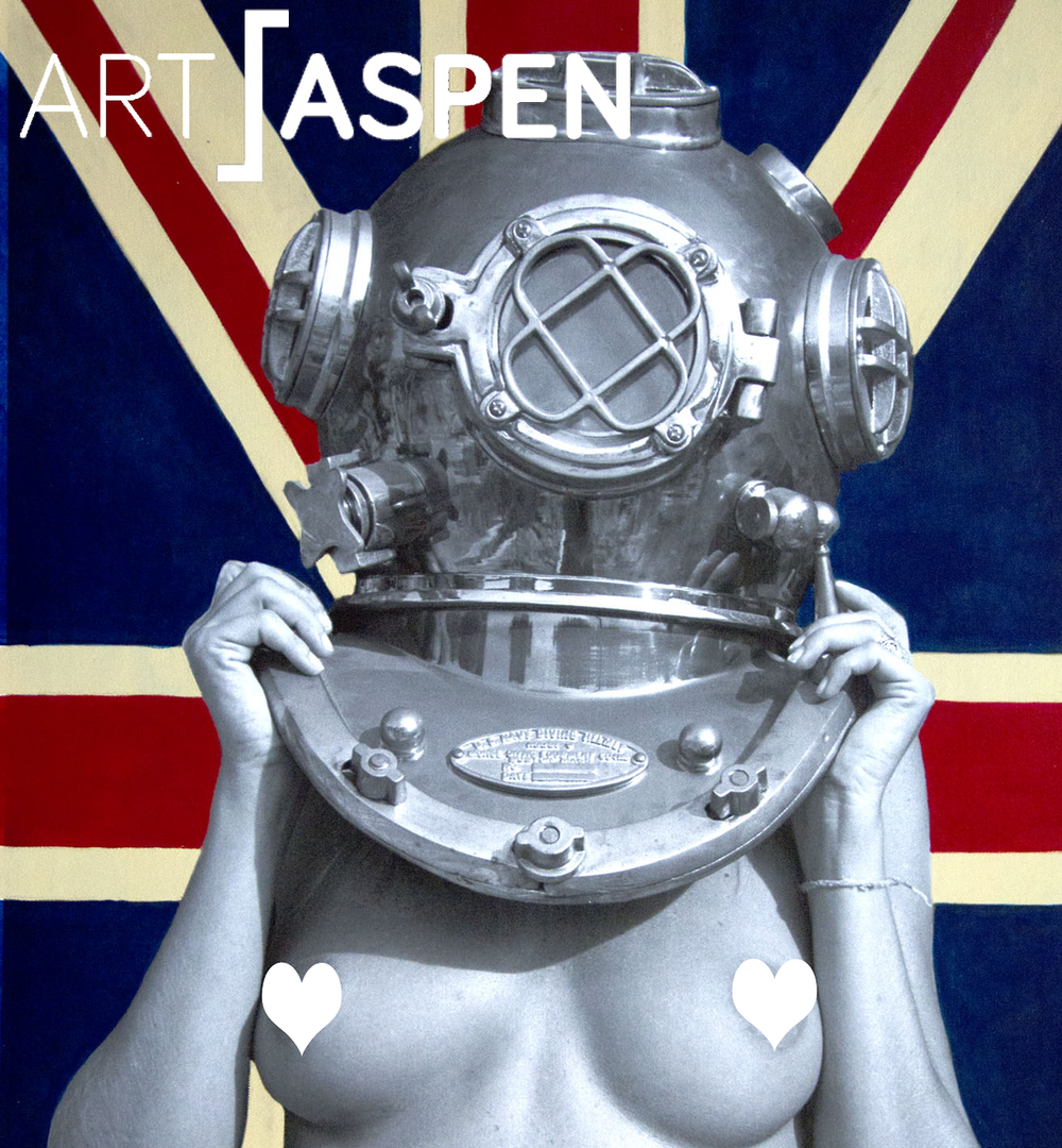 The British are coming! What would we do without them?Check you out at the Art Aspen Art Fair next weekend in, of course, Aspen, Colorado. SPiN Galleries in Booth B6 www.Art-Aspen.com