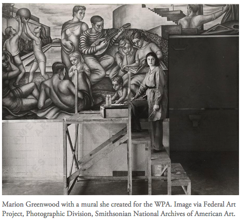 What We Can Learn from the Brief Period When the Government Employed Artists.    Complete article Here:   https://www.artsy.net/article/artsy-editorial-government-paid-working-class-artists?utm_source=sailthru&utm_medium=email&utm_campaign=8752919-Editorial-02-01-17&utm_term=ArtsyMagazine