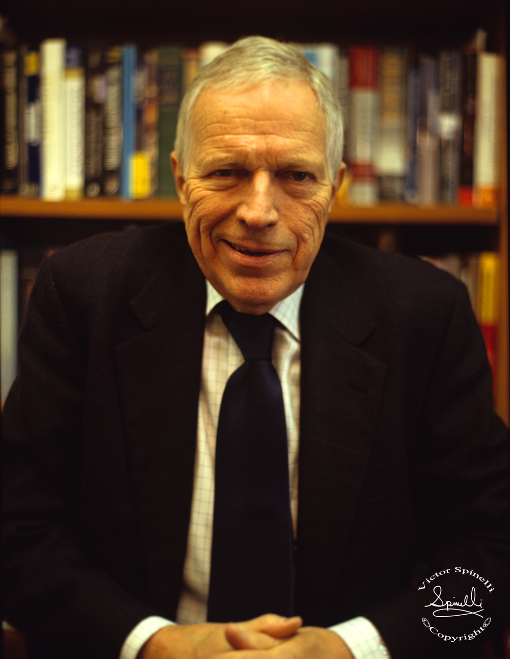 Professor Edmund Phelps, a portrait from my Nobel Prize Winner Series. Professor Phelps won the Nobel Economic Sciences Prize in 2006. I took this portrait of him at Columbia University where he continues as McVickar Professor of Political Economy and also Director of Columbia's Center on Capitalism and Society. ©   More information about Professor Phelps can be found here:  http://www.edmundphelps.com/