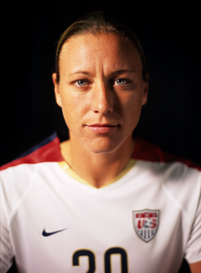 An intimate portrait that I took of USA Soccer player Abby Wambach who won last nights FIFA World Cup in Vancouver. She is also a two-time Olympic gold medalist, and the 2012 FIFA World Player of the Year. Thumbs up, Abby!