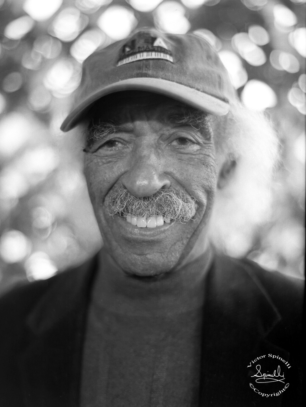 R.I.P. Gerald Wilson, world renowned Jazz Arranger and Trumpeter. He past away on September 8, 2014 at the age of 96. I was fortunate to take this portrait of his, in Beverly Hills,  a few years back. He wrote arrangements for many great musicians including Duke Ellington, Dizzy Gillespie and Ray Charles to name just a few. God bless his soul…. photo: Victor Spinelli Archive.