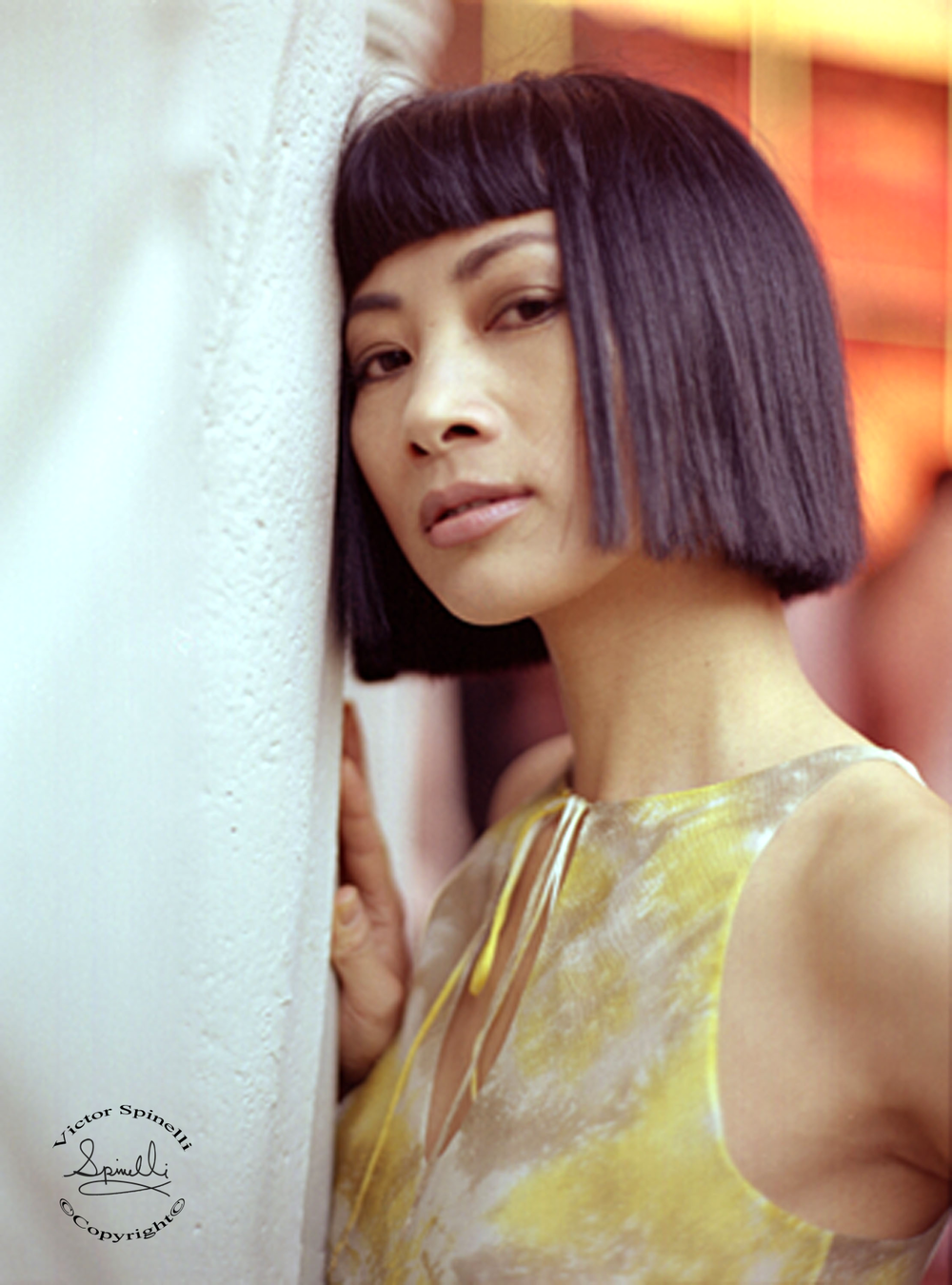 Portrait of Chinese American actress Bai Ling that I took in Beverly Hills, California. She won Best Supporting actress at the Hong Kong FIlm Awards for her roll in Dumplings. Enjoy. Victor Spinelli Archive