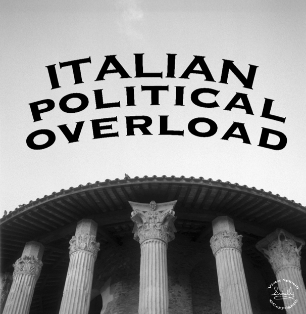 What is happening in Italy and its corrupted political system?