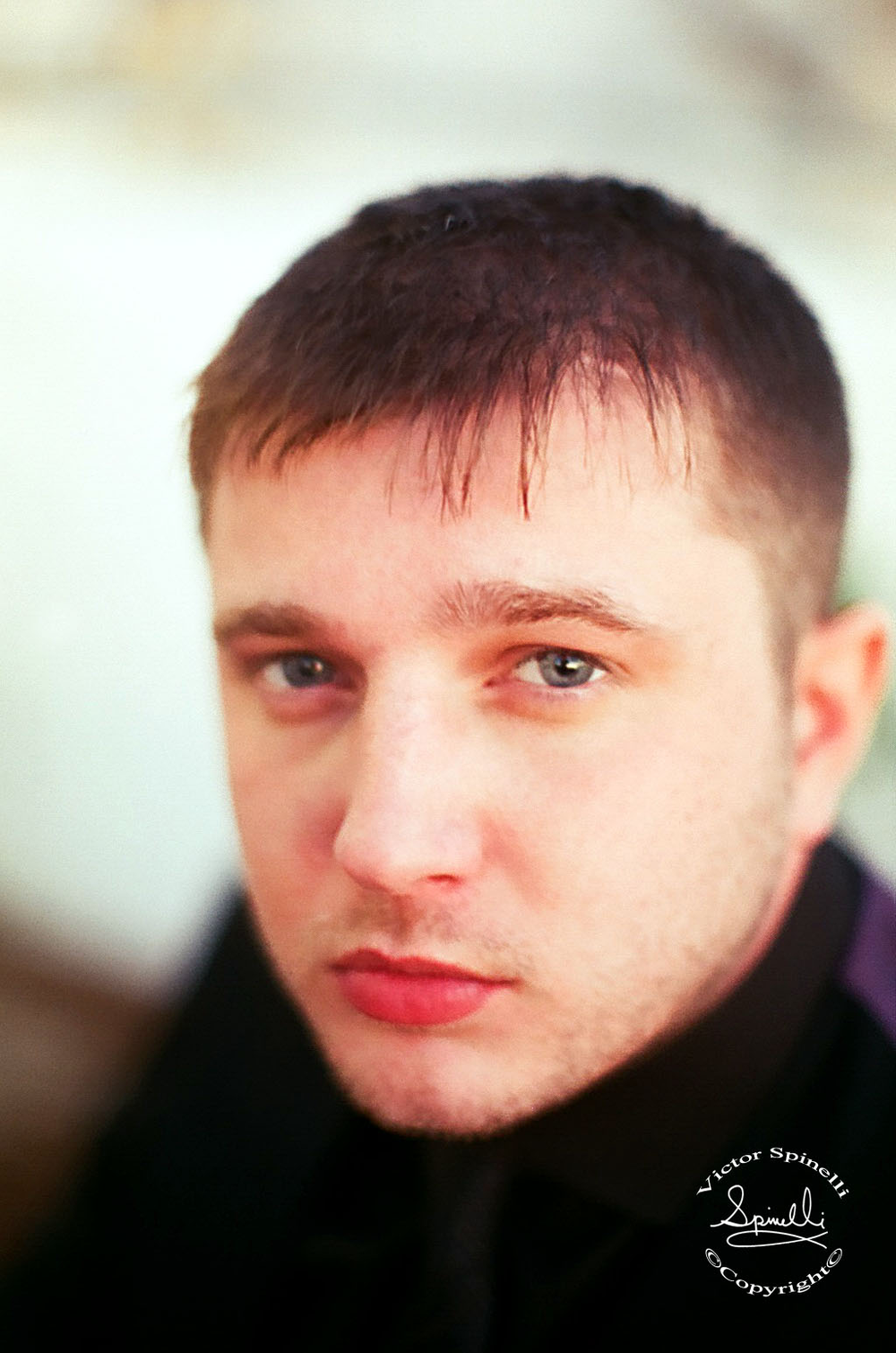 Intimate portrait that I took of British musician Plan B,  (Benjamin Paul Ballance-Drew) before he performed at Ibiza Rocks in 2011. ©Victor Spinelli Archive.