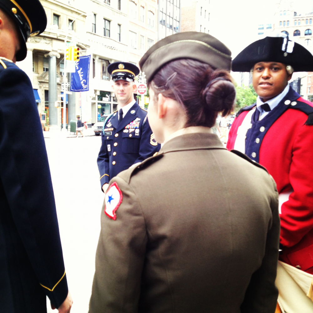 US Armies 237th birthday last week in Union Square, NYC